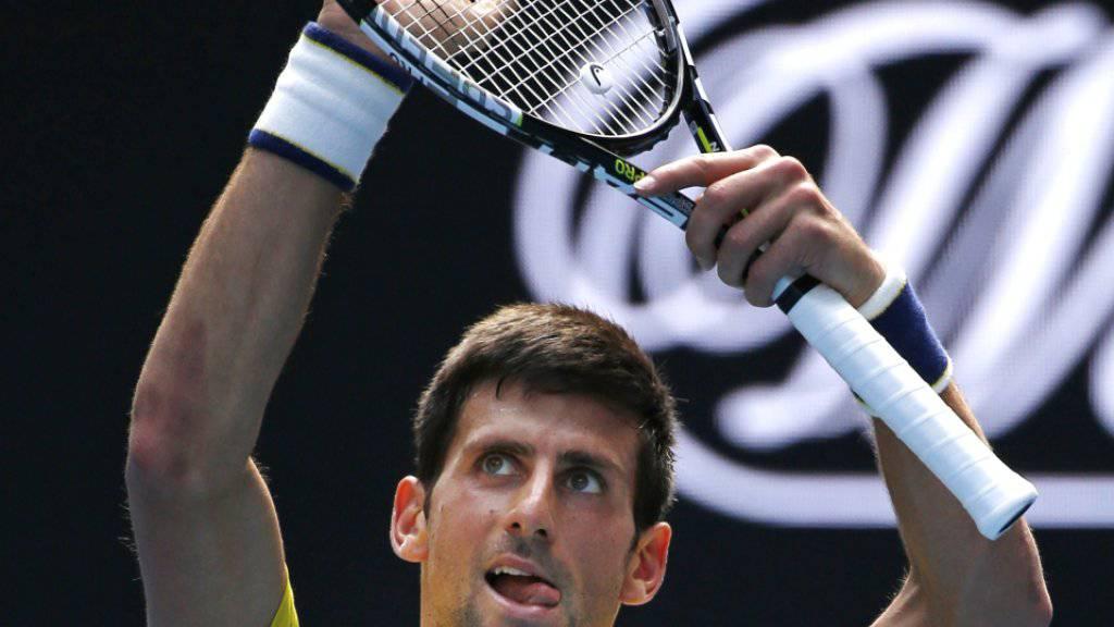 Novak Djokovic, der Dominator des letzten Jahres, startet auch ins neue Jahr mit Siegen (bislang 6).