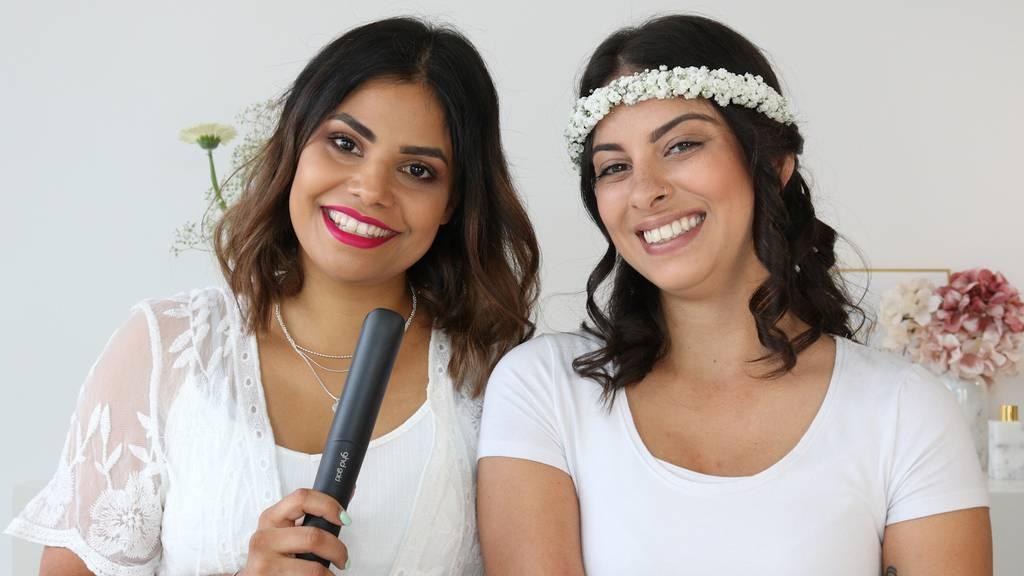 Braut-Frisur leicht gemacht