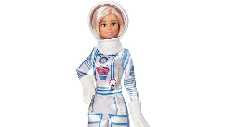Barbie als Astronautin