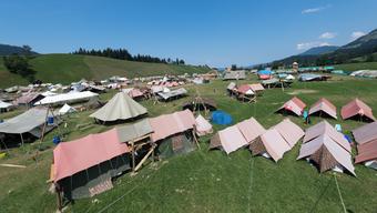 Eine Enttäuschung für viele Schweizer Pfadfinder: Die Pfingst- und Auffahrtslager finden dieses Jahr wegen des Coronavirus nicht statt.
