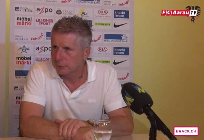 FC Aarau - FC Wohlen 1:1 – Stimmen zum Spiel: Interview mit Captain Sandro Burki sowie die PK mit den Cheftrainern Livio Bordoli und Martin Rueda.