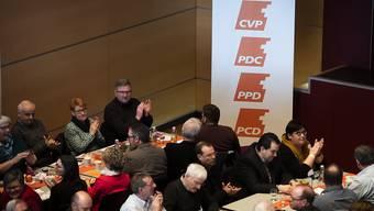 Die Begrenzungsinitiative der SVP stiess bei den CVP-Delegierten am Samstag in Frauenfeld auf wenig Gegenliebe. Quelle: KEYSTONE Fotograf: GIAN EHRENZELLER
