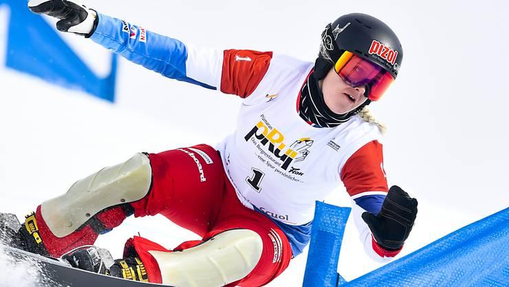 Julie Zogg ist eines der Aushängeschilder der Schweizer Alpin-Snowboarderinnen