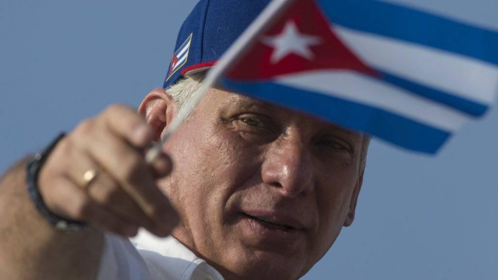 Der seit April dieses Jahres amtierende Präsident Kubas, Miguel Diaz-Canel, will eine Verfassungsänderung vor das kubanische Volk bringen. (Archivbild)