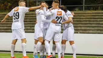 Gewinnt der FC Aarau gegen den FC Thun, dann winkt zwischenzeitlich Platz 2 in der Tabelle.
