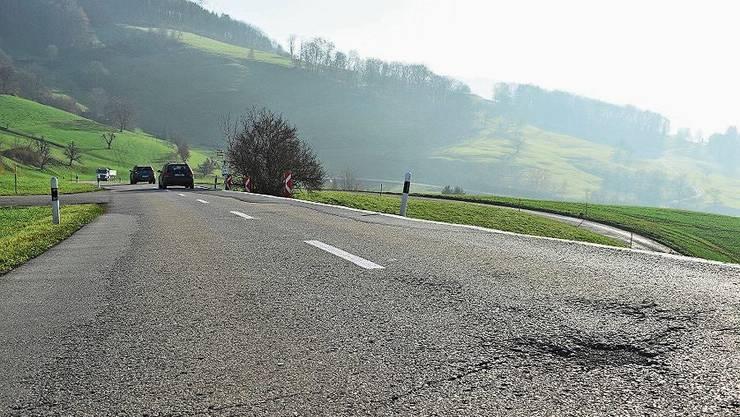 Bald Geschichte: Holperstellen am Kaistenberg.