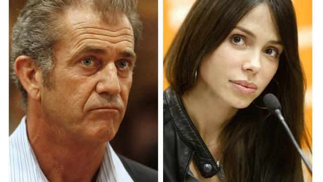 Haben ein Kind zusammen: Mel Gibson und Oksana Grigorieva