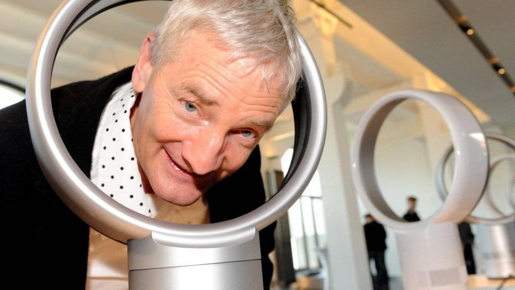 """""""Radikal anders"""": Der britische Designer und Ingeneur James Dyson, Gründer des gleichnamigen Ventilatoren- und Haarföhnherstellers. (Archivbild)"""