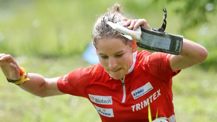 Weltcup-Podestplatz für Sabine Hauswirth in Lettland