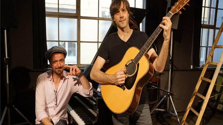 Die Gründer des Song Circle Hendrix Ackle (l.) und Adrian Stern planen eine weitere Ausgabe.