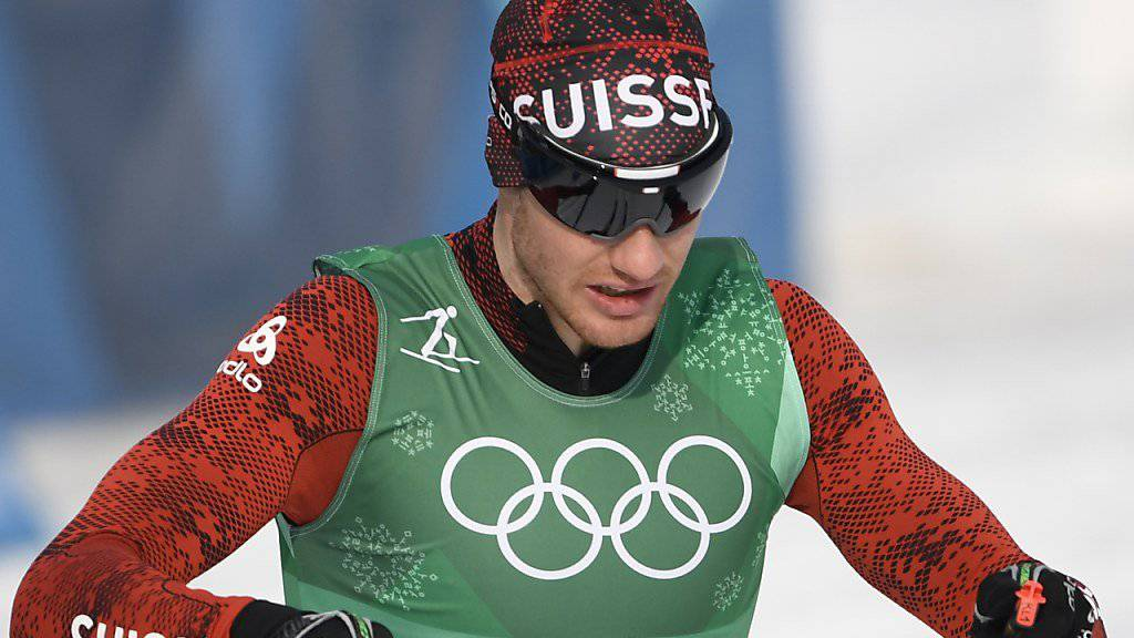 Dario Cologna macht im Teamsprint zusammen mit Roman Furger Jagd auf die nächste Olympia-Medaille.