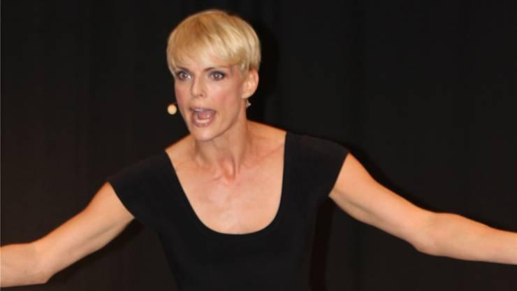 Aktuell feiert die Ex-Miss Schweiz als Komikerin grossen Erfolg. Im April startet ihr zweites Programm «No Stress, No Fun»
