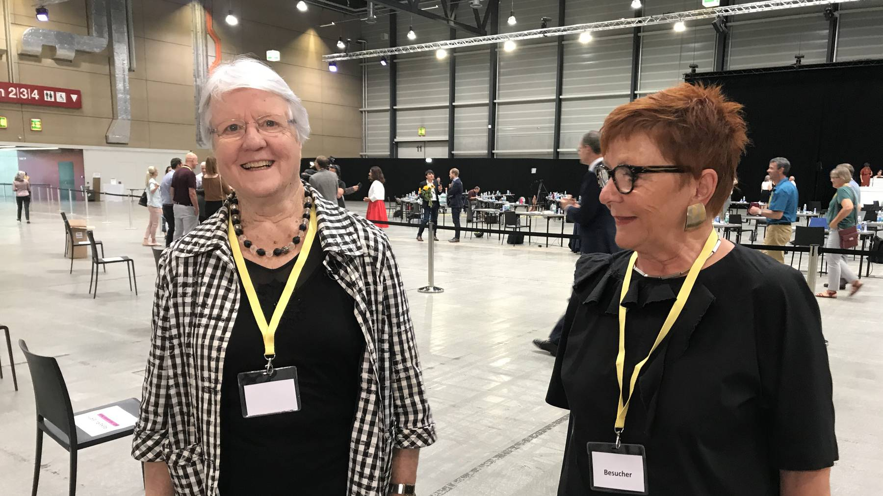 Alt-Nationalrätinnen Judith Stamm (CVP) und Cécile Bühlmann (Grüne)