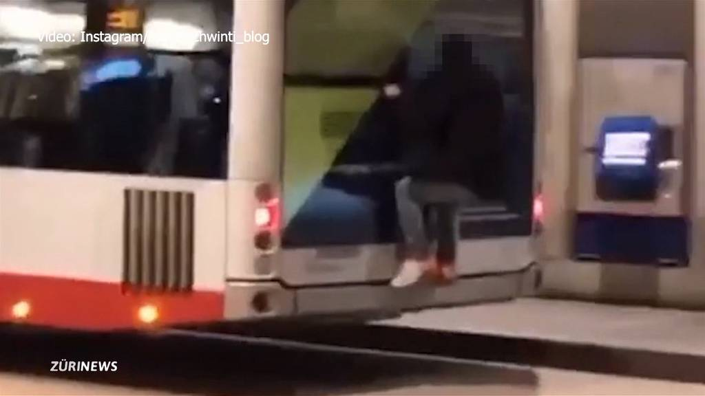 Stadtpolizei Winterthur nimmt 14-jährigen «Bussurfer» fest