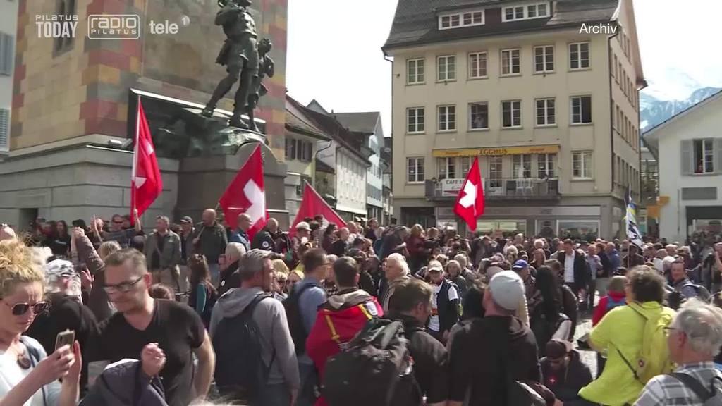 Demo in Altdorf: Beschränkung auf 300 Personen war rechtens