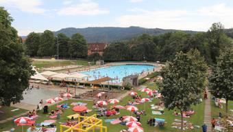 20000 Gäste weniger als erhofft: Das Terrassenbad Baden litt unter den Folgen der Coronapandemie.