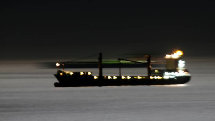 Plötzlich vor dem syrischen Hafen Taurus aufgetaucht: Der iranische Supertanker Adrian Darya 1 hat eine politisch brisante Ladung an Bord. Bild: Jon Nazca/Reuters (19. August 2019)