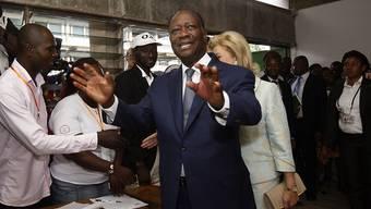 Ivorischer Präsident für weitere fünf Jahre: Alassane Ouattara hat die Wahl gewonnen.