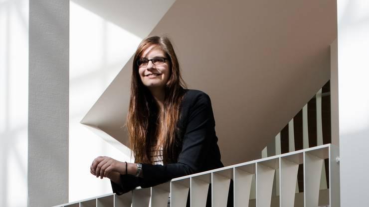 «Ich schaue mir genau an, was politische Entscheide für junge Erwachsene bedeuten», sagt Nadine Burtscher.