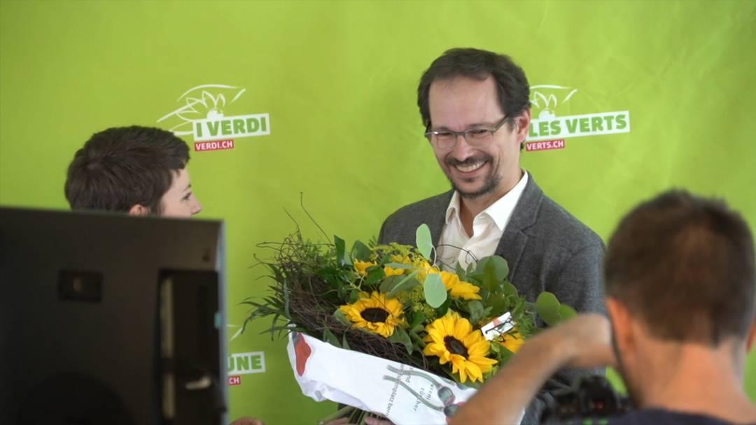 Balthasar Glättli ist neuer Präsident der Grünen