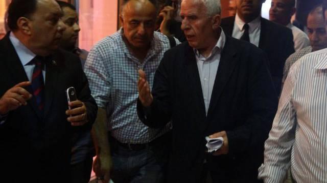 Die palästinensische Delegation in Kairo (Archivbild)