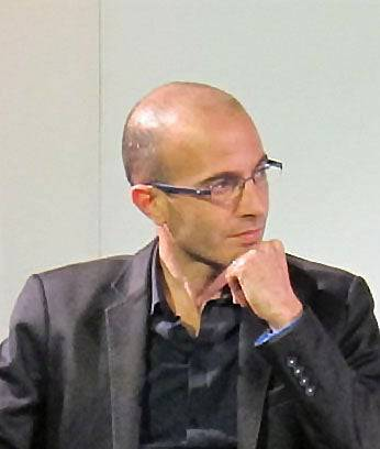 Historiker Yuval Noah Harari glaubt, der Mensch denke in Algorithmen und funktioniere wie ein komplexer Supercomputer.
