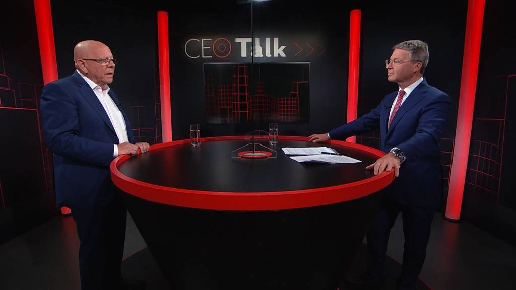 «CEO Talk» mit Holcim-Chef Beat Hess