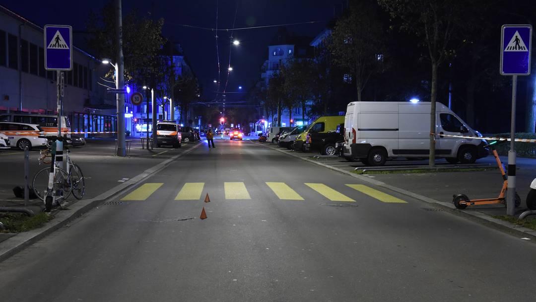 Kollision mit E-Trottinett: Velofahrer im Kreis 3 schwer verletzt