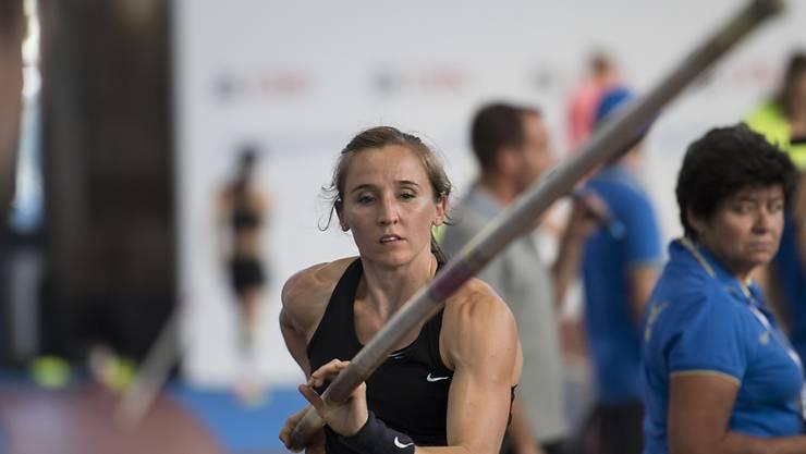 Nicole Büchler startet in Doha in die Freiluft-Saison