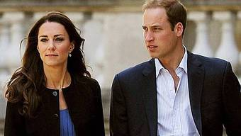 William und Kate verlassen in Helikopter Buckingham Palast