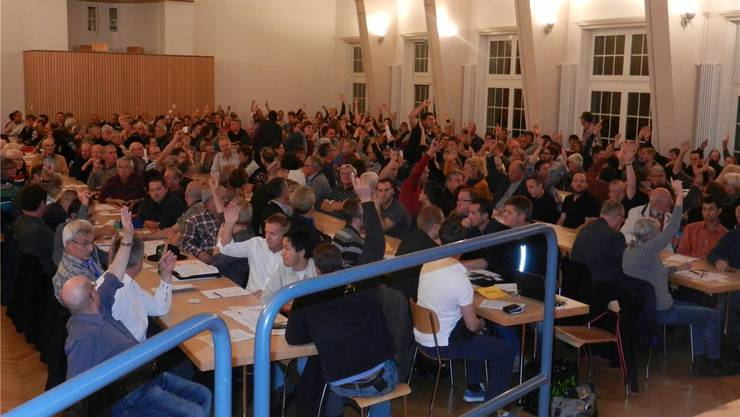 Nur eine Minderheit der Stimmberechtigten wollte an der Gemeindeversammlung Langendorf auf das Traktandum Schulraumerweiterung eintreten.