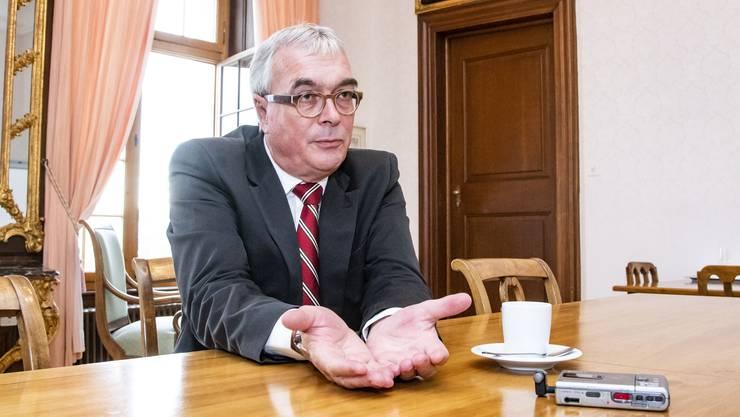 SP-Regierungsrat Christoph Brutschin.