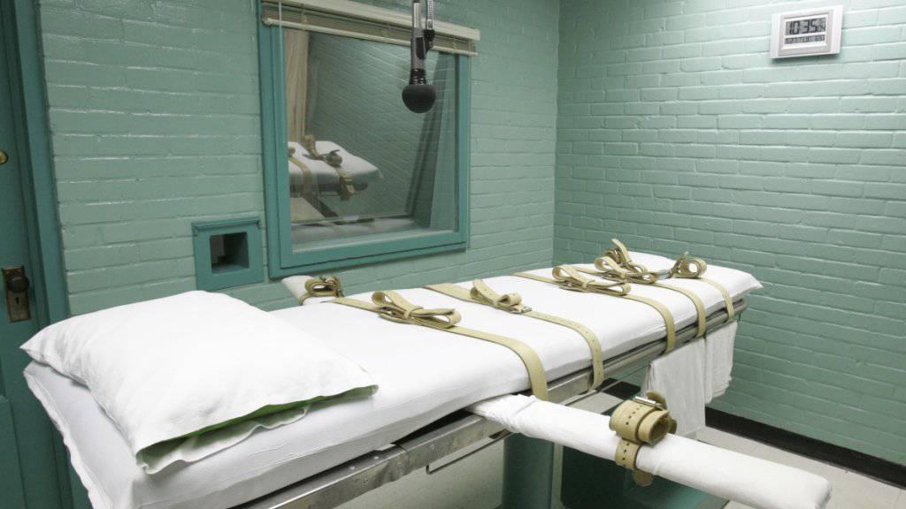 Zwei verurteilte Mörder in den USA hingerichtet