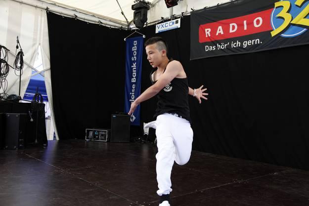 Melih Sen aus Langendorf mit einem Song von Celo und Abdi
