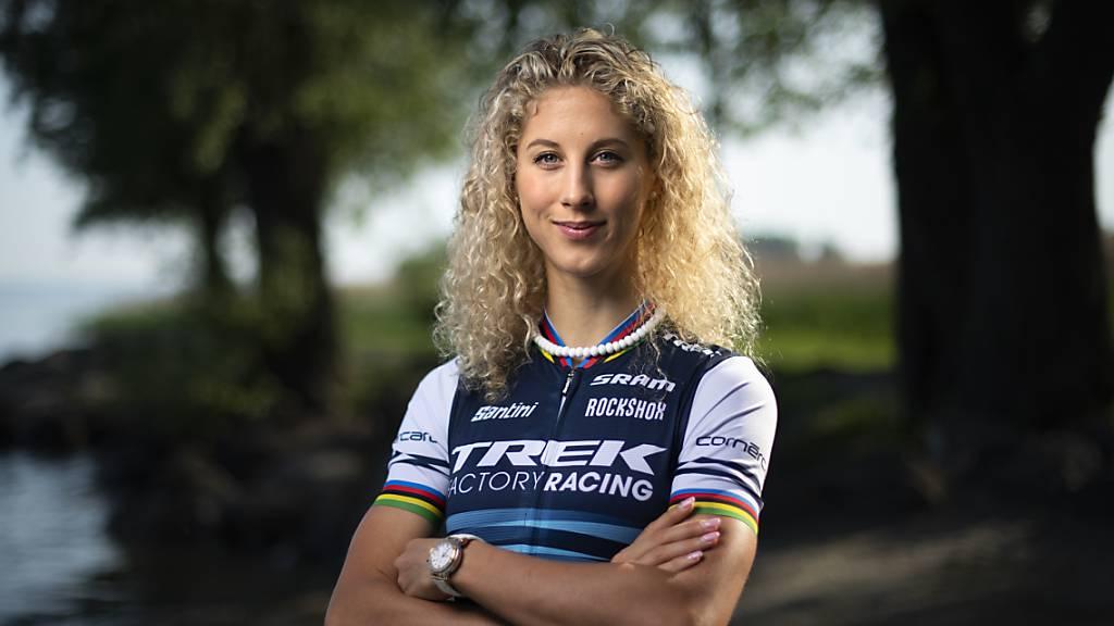Mountainbikerin Jolanda Neff ist auf der Forbes-Liste.