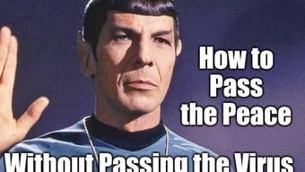 Dass die Kommandozentrale der US-Weltraumstreitkräfte SPOC heisst, lässt Mr. Spock kalt. Wie alles andere auch. (Meme img flip)