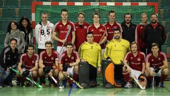Das erfolgreiche Team von Rotweiss Wettingen am Europacup.