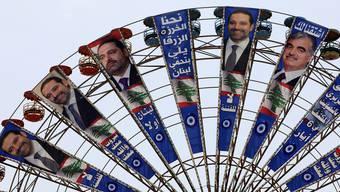 Kandidatenkarussell im Libanon: Erstmals seit zehn Jahren sind wieder Wahlen.