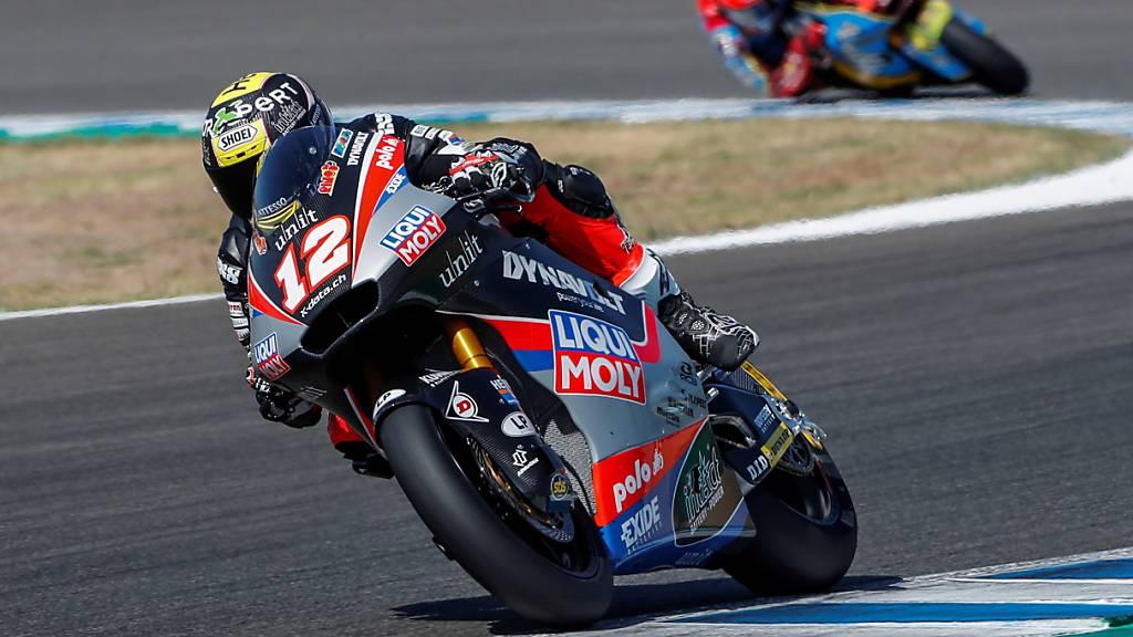 Lüthi verbessert sich: Startposition 9 fürs zweite Rennen in Jerez