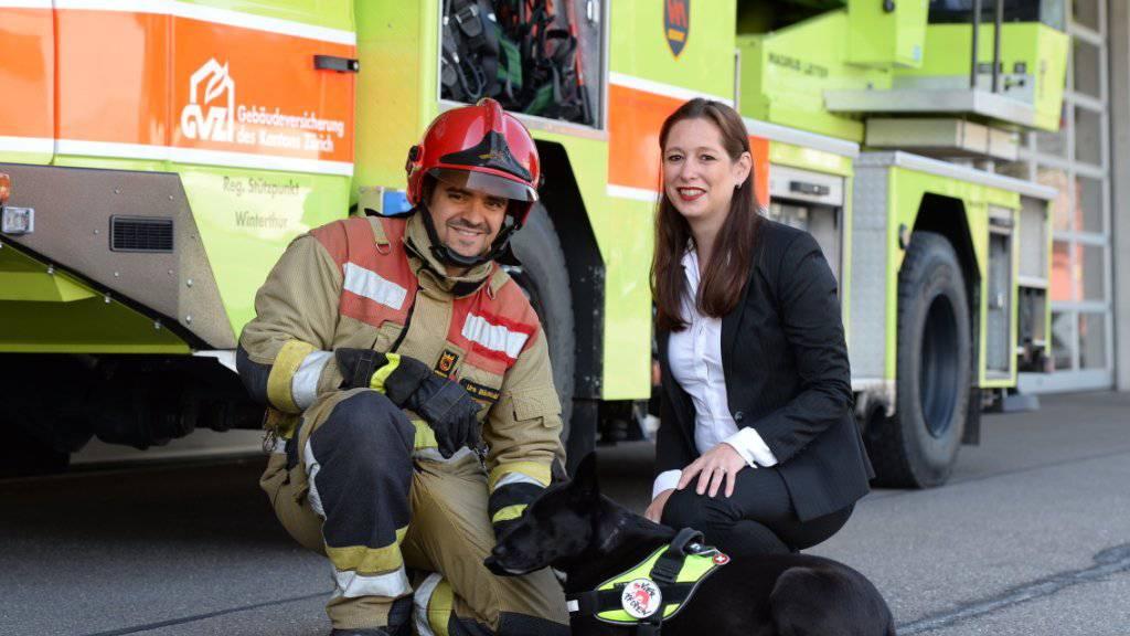 Die Tierschutzorganisation Vier Pfoten und der Schweizerische Feuerwehrverband (SFV) haben das erste schweizweite und länderübergreifende Notfallset zur Tierrettung lanciert.