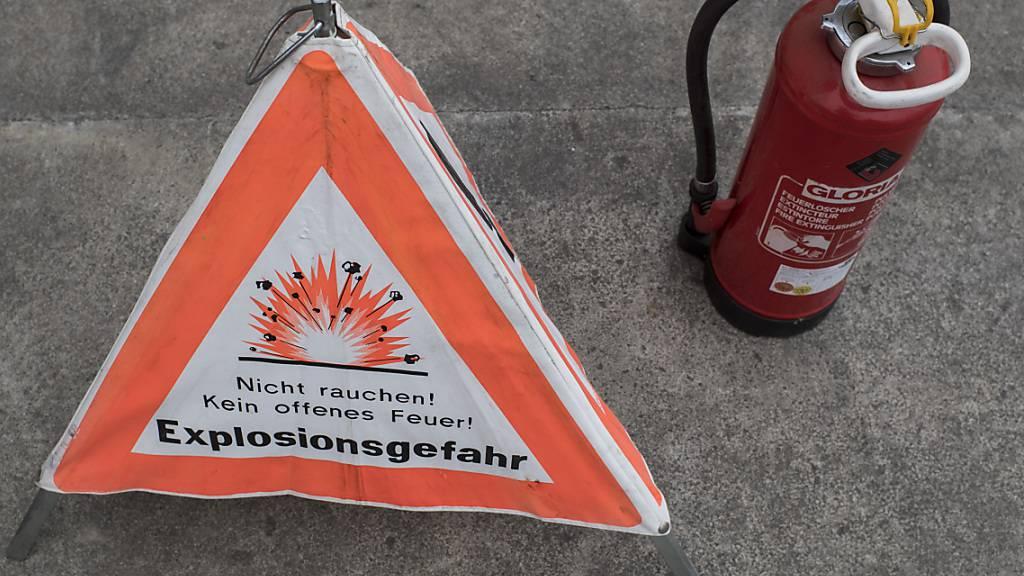 Kantonspolizei stellt 800 Kilogramm Feuerwerkskörper sicher