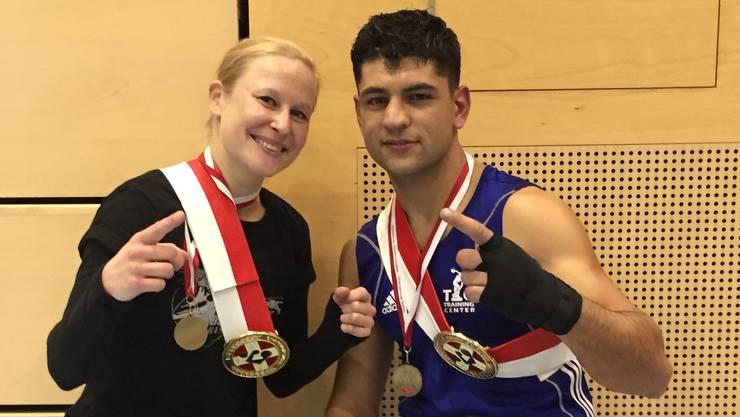 Siegreich: Tina Saskia Asmussen und Vahram Khudeda.