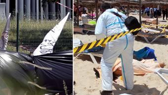 Terror-Anschläge in Frankreich und Tunesien