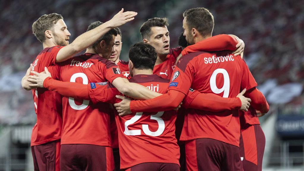 7:0 für die Schweiz gegen Liechtenstein