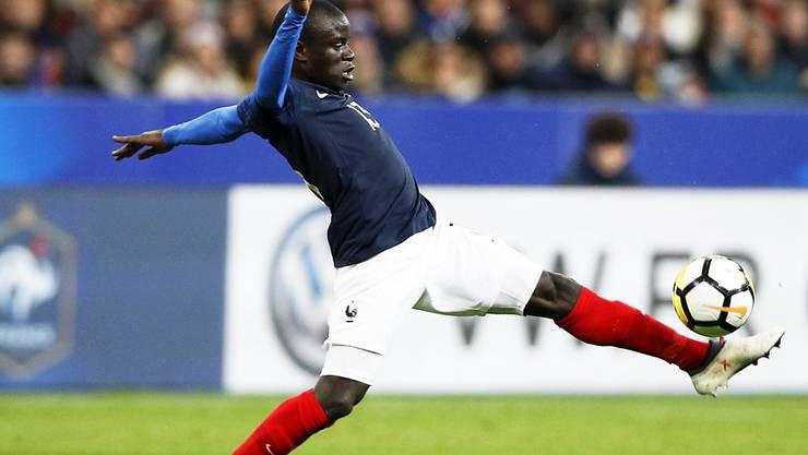 N'Golo Kanté (Bild) will Teamkollege Eden Hazard das Leben schwer machen