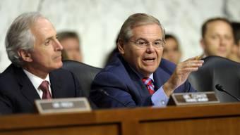 Der US-Senatsausschuss befürwortet einen Syrien-Angriff
