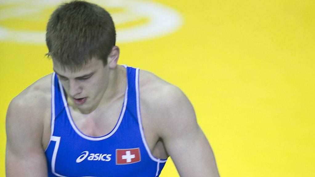 Stefan Reichmuth (links) gewinnt sensationell WM-Bronze