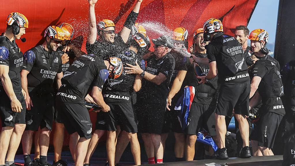 Team New Zealand erneut America's-Cup-Sieger