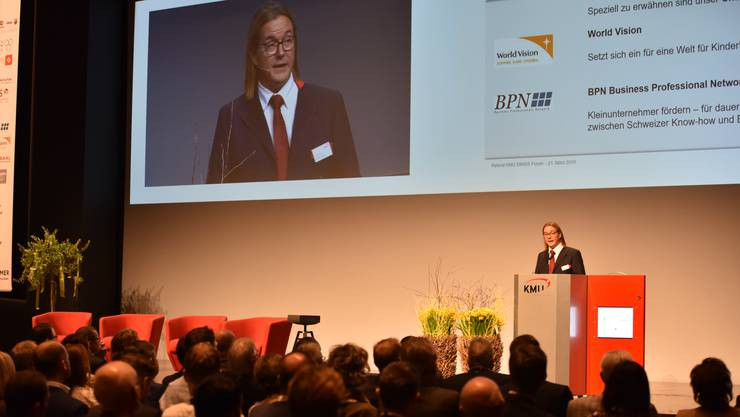 Das KMU Swiss Forum im Trafo soll stattfinden. (Archivbild 2019