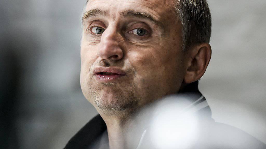 Christian Weber bleibt in La Chaux-de-Fonds - als Sportdirektor und Assistenztrainer
